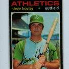 1971 Topps Baseball #109 Steve Hovley A's VG/EX