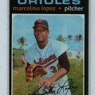 1971 Topps Baseball #137 Marcelino Lopez Orioles VG/EX