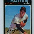 1971 Topps Baseball #153 Gary Ross Padres EX
