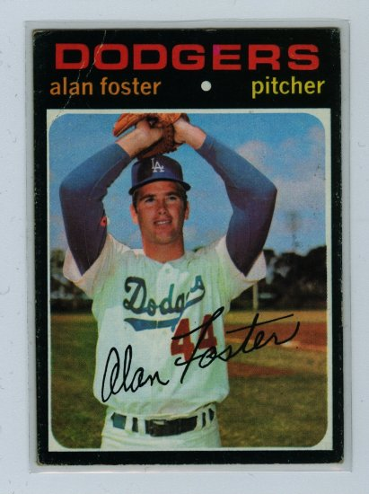 1971 Topps Baseball #207 Alan Foster Dodgers VG/EX