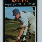 1971 Topps Baseball Wayne Garrett Mets EX/EXMT