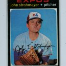 1971 Topps Baseball #232 John Strohmayer Expos EXMT
