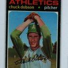 1971 Topps Baseball #238 Chuck Dobson A's EX