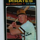 1971 Topps Baseball #255 Bob Robertson Pirates EX