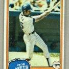 1981 Topps Baseball #163 Billy Almon RC Mets Pack Fresh