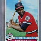 1979 Topps Baseball #13 Paul Dade Indians Pack Fresh