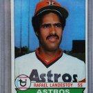 1979 Topps Baseball #14 Rafael Landestoy RC Astros Pack Fresh