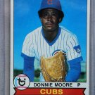 1979 Topps Baseball #17 Donnie Moore Cubs Pack Fresh