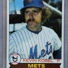 1979 Topps Baseball #21 Kevin Kobel Mets Pack Fresh