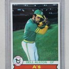 1979 Topps Baseball #54 Dell Alston A's Pack Fresh