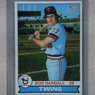 1979 Topps Baseball #58 Bob Randall Twins Pack Fresh