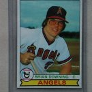 1979 Topps Baseball #71 Brian downing Angels Pack Fresh