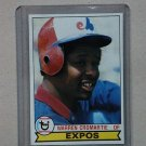 1979 Topps Baseball #76 Warren Cromartie Expos Pack Fresh