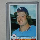1979 Topps Baseball #94 Len Barker Rangers Pack Fresh