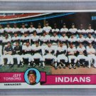 1979 Topps Baseball #96 Indians Team Checklist Pack Fresh