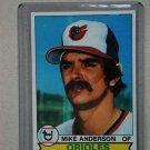 1979 Topps Baseball #102 Mike Anderson Orioles Pack Fresh
