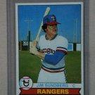 1979 Topps Baseball #120 Jim Sundberg Rangers Pack Fresh