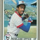 1979 Topps Baseball #132 Rowland Office Braves Pack Fresh