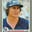 1979 Topps Baseball #134 Alan Bannister White Sox Pack Fresh