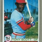 1979 Topps Baseball #143 Tony Scott Cardinals Pack Fresh