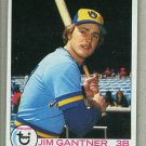 1979 Topps Baseball #154 Jim Gantner Brewers Pack Fresh