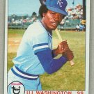 1979 Topps Baseball #157 U.L. Washington Royals Pack Fresh