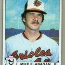 1979 Topps Baseball #160 Mike Flanagan Orioles Pack Fresh