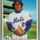 1979 Topps Baseball #172 Mike Bruhert RC Mets Pack Fresh
