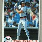 1979 Topps Baseball #176 Aurelio Rodriguez Tigers Pack Fresh
