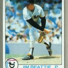1979 Topps Baseball #179 Jim Beattie Yankees Pack Fresh