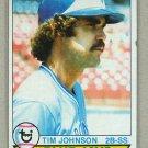 1979 Topps Baseball #182 Tim Johnson Blue Jays Pack Fresh