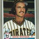 1979 Topps Baseball #189 Eddie Whitson RC Pirates Pack Fresh