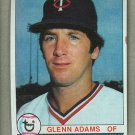 1979 Topps Baseball #193 Glenn Adams Twins Pack Fresh