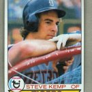 1979 Topps Baseball #196 Steve Kemp Tigers Pack Fresh