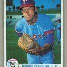 1979 Topps Baseball #209 Reggie Cleveland Rangers Pack Fresh