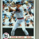1979 Topps Baseball #217 Steve Dillard Tigers Pack Fresh