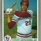 1979 Topps Baseball #220 Cesar Geronimo Reds Pack Fresh