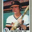 1979 Topps Baseball #236 Jim Dwyer Giants Pack Fresh