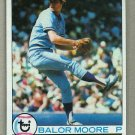 1979 Topps Baseball #238 Balor Moore Blue Jays Pack Fresh