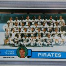 1979 Topps Baseball #244 Pirates Team Checklist Pack Fresh