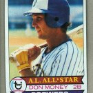 1979 Topps Baseball #265 Don Money Brewers Pack Fresh