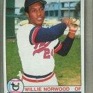 1979 Topps Baseball #274 Willie Norwood Twins Pack Fresh