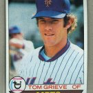 1979 Topps Baseball #277 Tom Grieve Mets Pack Fresh