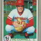1979 Topps Baseball #281 Vic Correll Reds Pack Fresh