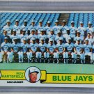 1979 Topps Baseball #282 Blue Jays Team Checklist Pack Fresh