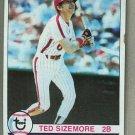 1979 Topps Baseball #297 Ted Sizemore Phillies Pack Fresh