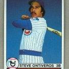 1979 Topps Baseball #299 Steve Ontiveros Cubs Pack Fresh
