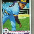 1979 Topps Baseball #303 Larry Sorensen Brewers Pack Fresh