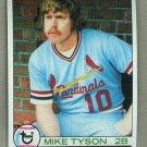 1979 Topps Baseball #324 Mike Tyson Cardinals Pack Fresh