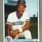 1979 Topps Baseball #332 Gary Alexander Indians Pack Fresh
